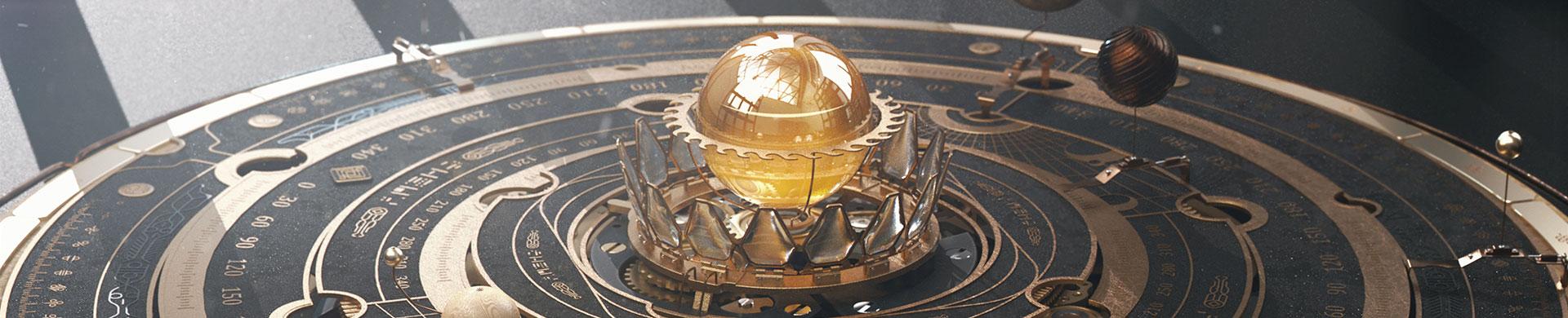 Orery Astrolabe