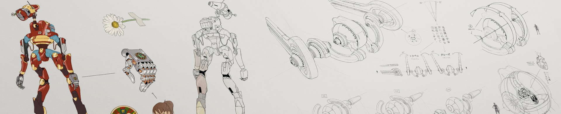 Character and Mech Concepts