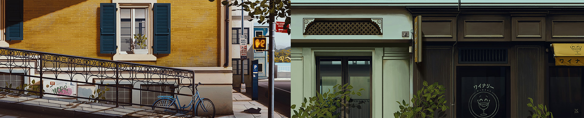 Animated Environment Paintings